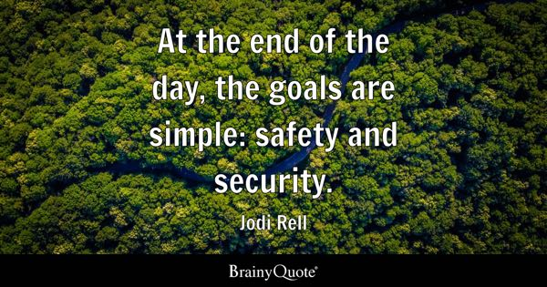 Quotes About Security Glamorous Security Quotes  Brainyquote