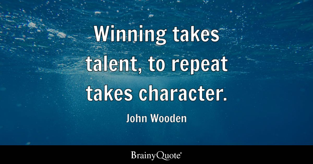 John Wooden Quotes Brainyquote