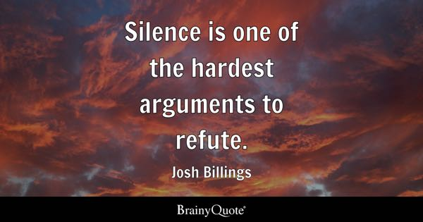 Image result for silence quotes