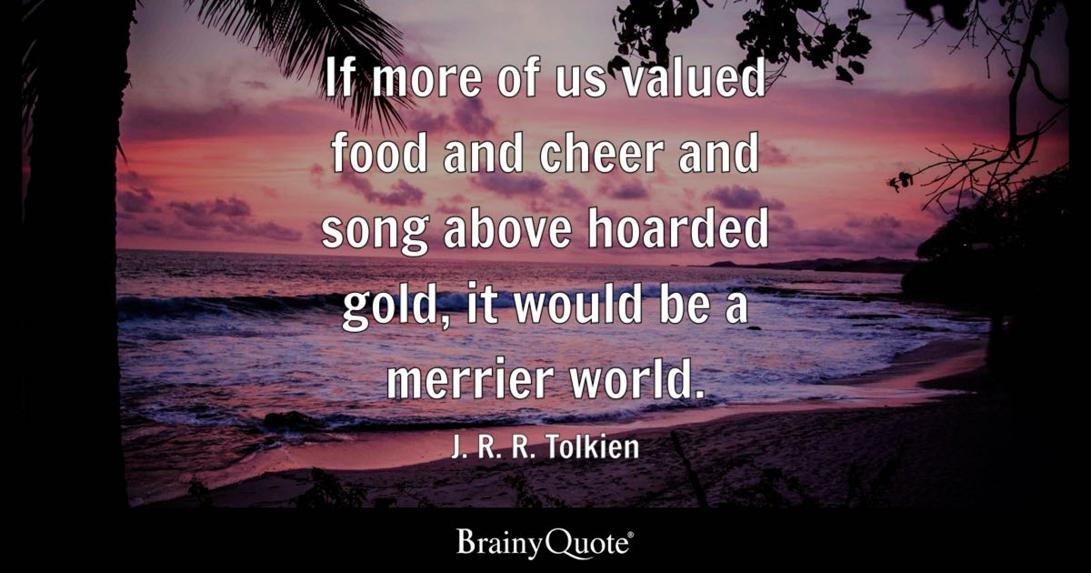 Jrr Tolkien Quotes About Life Best Jrrtolkien Quotes  Brainyquote