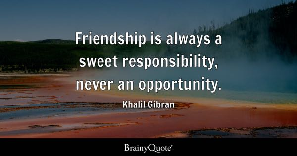 Khalil Gibran Quotes BrainyQuote Inspiration Best Friendship Quotes In Spanish Free Images Download