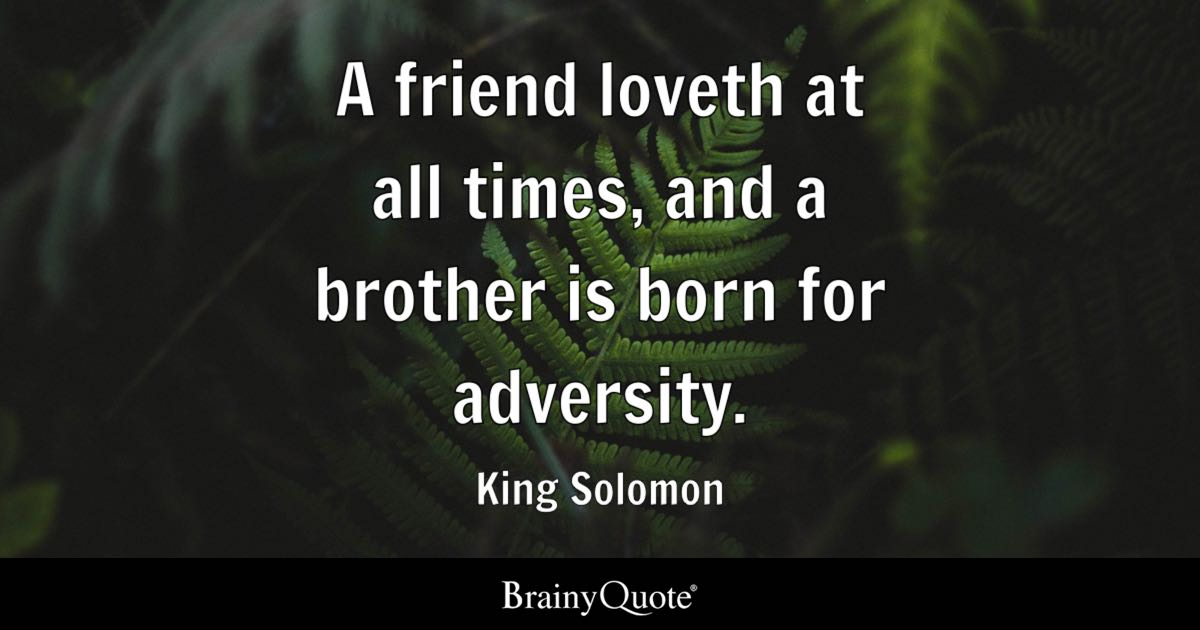 King Solomon Quotes Brainyquote