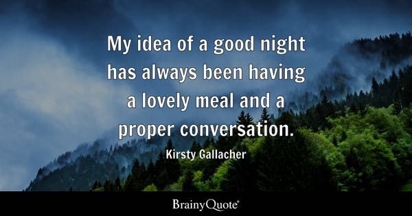 Good Night Quotes Brainyquote
