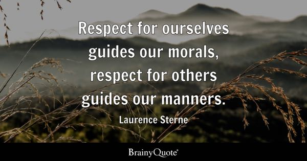 Quotes Respect Entrancing Respect Quotes  Brainyquote