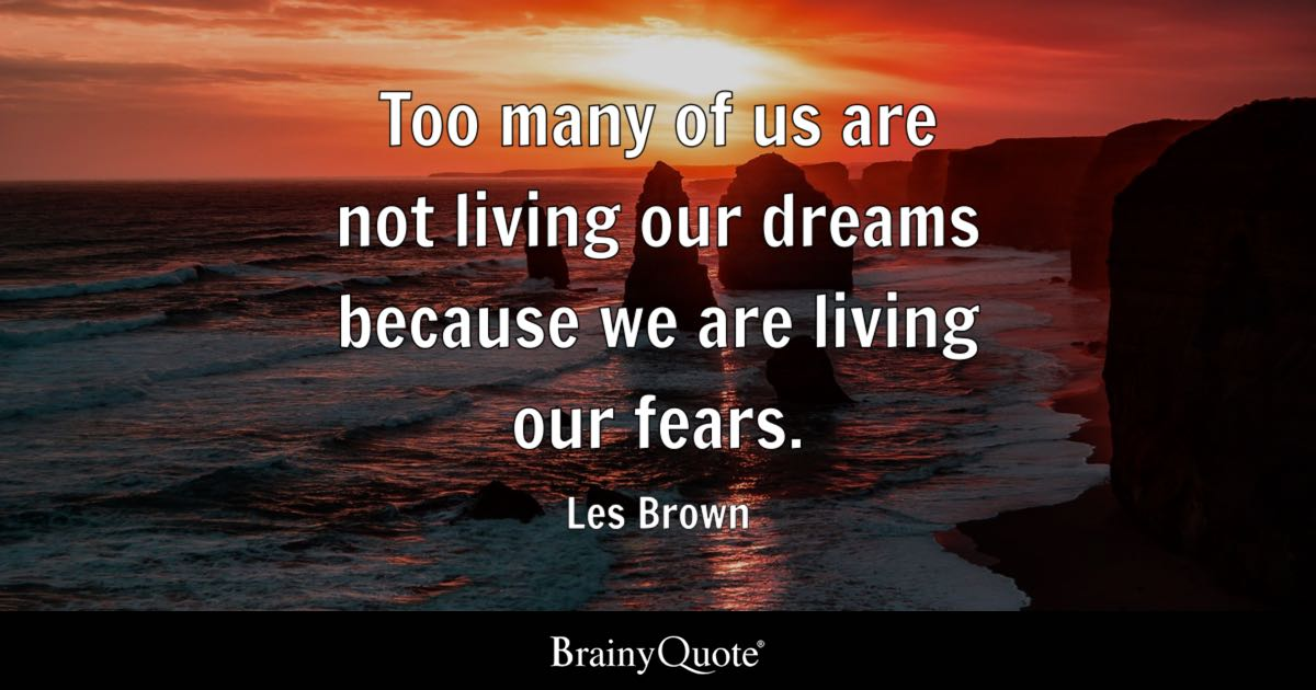 Les Brown Quotes Glamorous Les Brown Quotes  Brainyquote