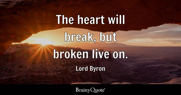 Broken Quotes Brainyquote
