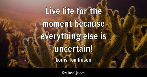Quotes On How To Live Life Simple Live Life Quotes  Brainyquote