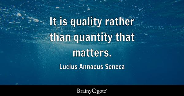 Quotes Quality Mesmerizing Quality Quotes  Brainyquote