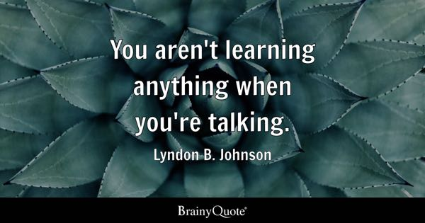 Talking Quotes Brainyquote