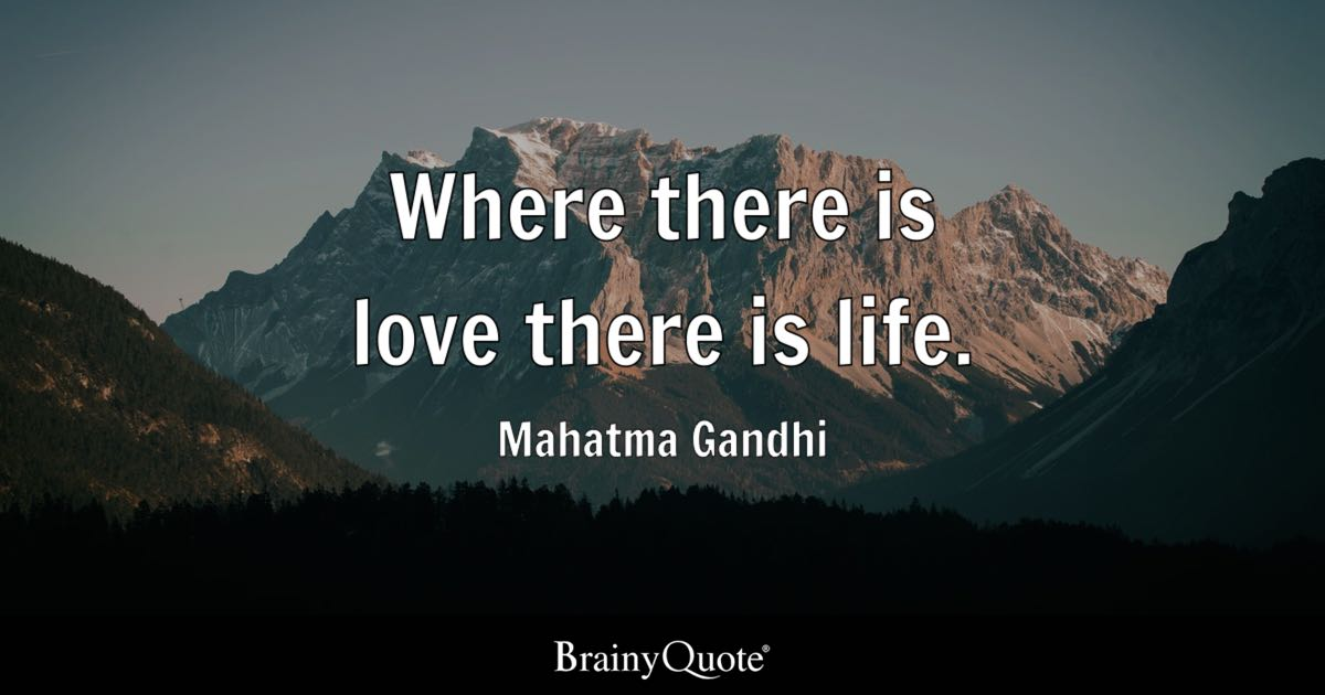 Mahatma Gandhi Quotes On Love Mesmerizing Mahatma Gandhi Quotes  Brainyquote