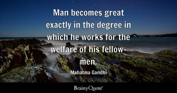Welfare Quotes Brainyquote