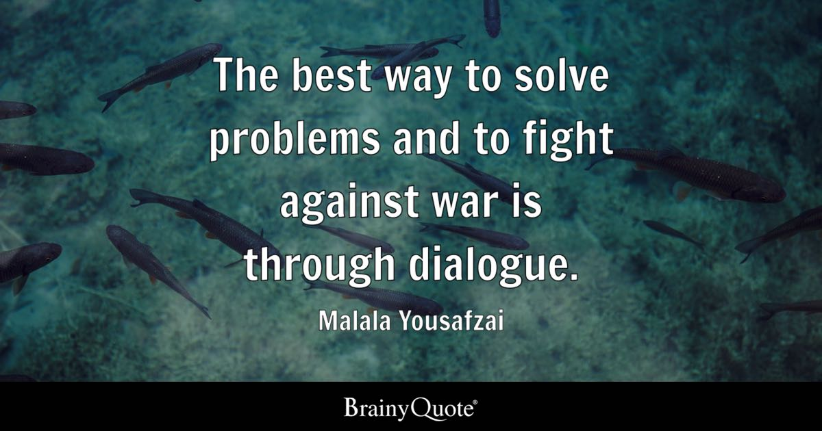 can war solve problems When countries start a war, i believe its due to a lack of intelligence of political leaders not understanding other countries beliefs and the unwillingness to actually discuss what problems are happening between the countries.