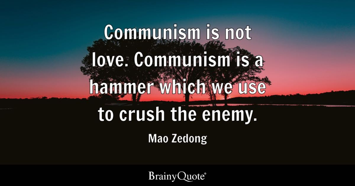 Inspirational Quote Generator Adorable Mao Zedong Quotes  Brainyquote