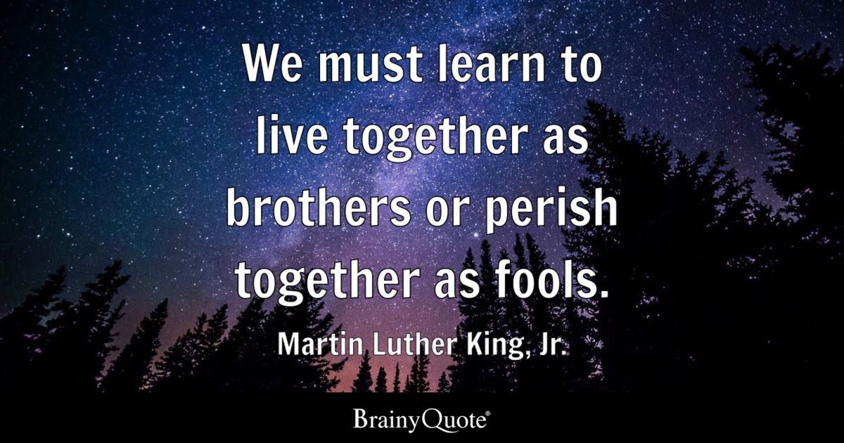 Dr Martin Luther King Quotes Interesting Martin Luther King Jr Quotes BrainyQuote