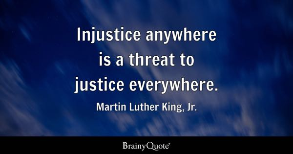Injustice Quotes Brainyquote