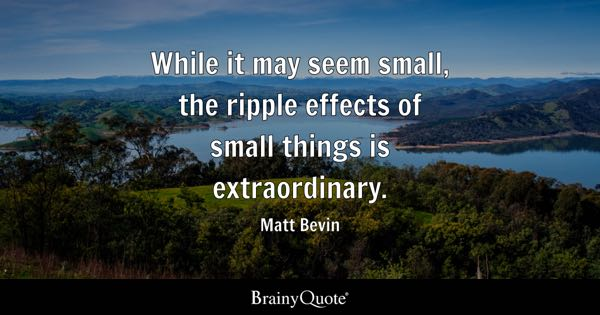 Image result for small things quotes