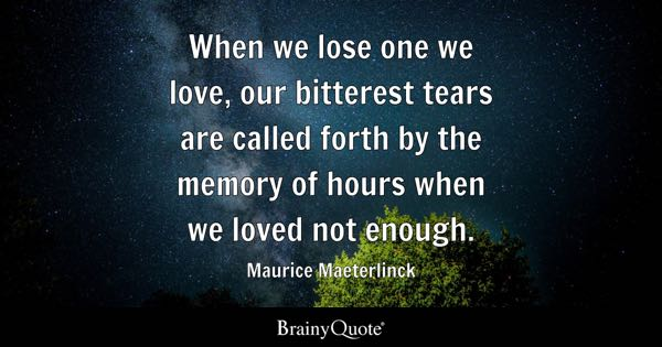 Loved Quotes Brainyquote