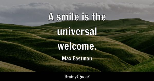 Welcome Quotes Brainyquote
