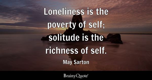 Quotes On Solitude Best Solitude Quotes  Brainyquote