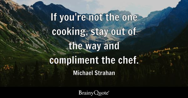 Cooking Quotes Brainyquote