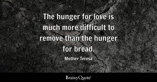 Hunger Quotes Brainyquote