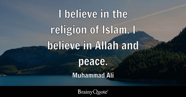Islam Quotes Brainyquote
