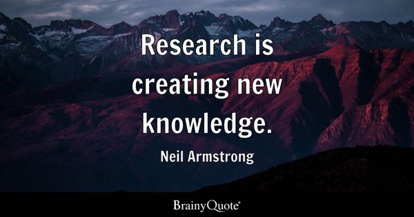 Quotes On Research Gorgeous Research Quotes  Brainyquote