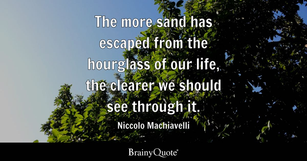 Niccolo Machiavelli Quotes Brainyquote