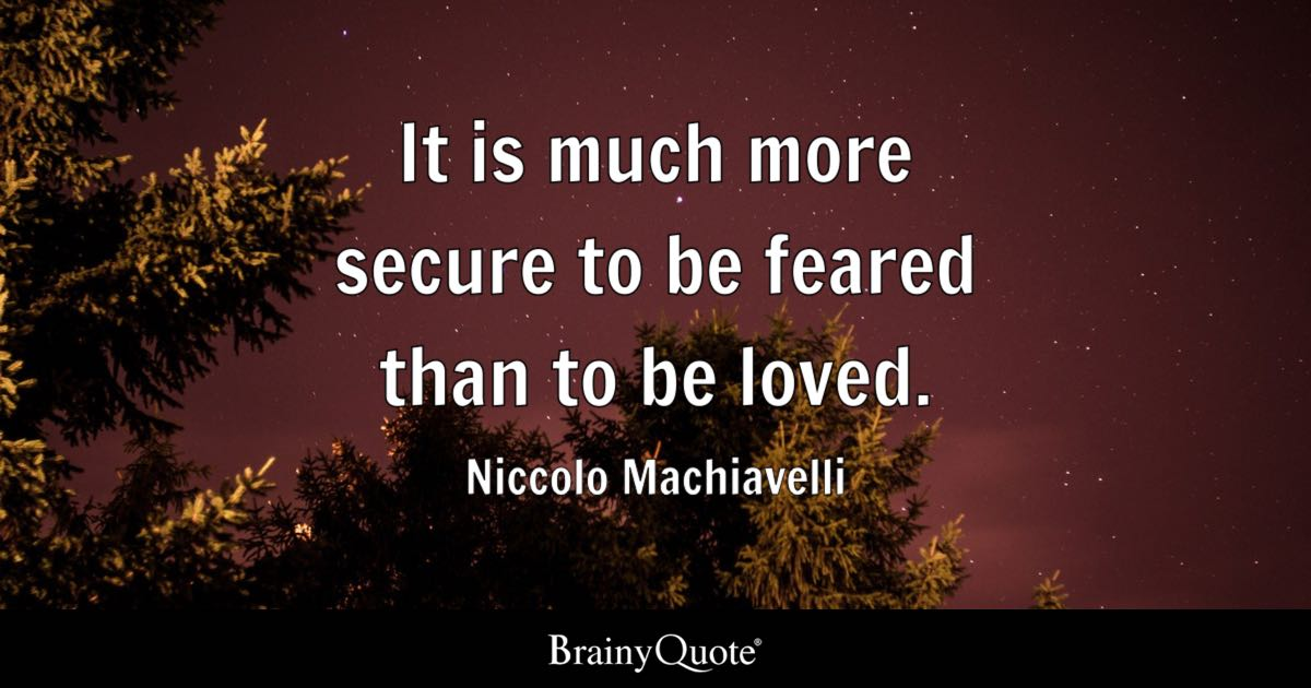 Image result for niccolo machiavelli