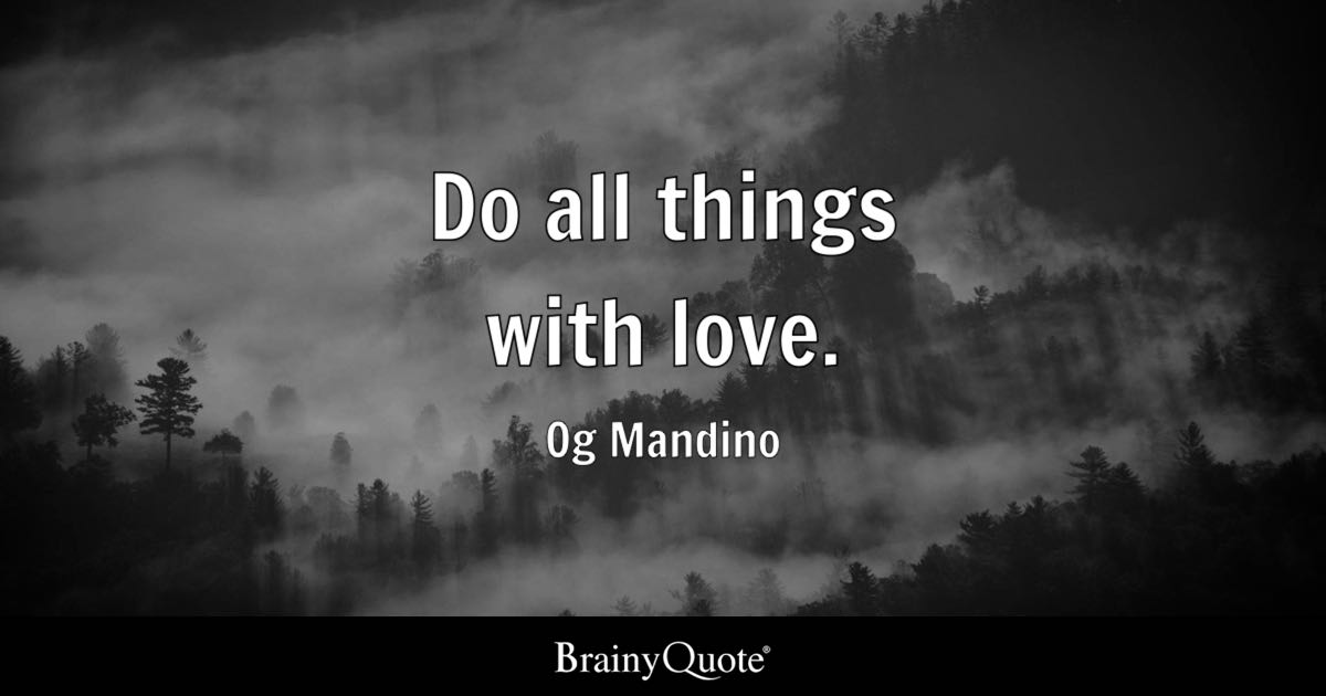 Og Mandino Quotes Inspiration Og Mandino Quotes BrainyQuote