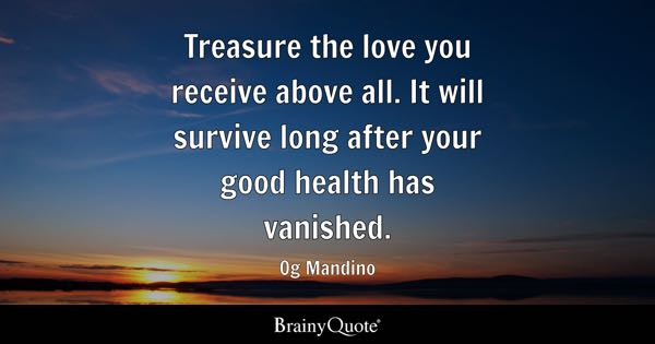 Good Health Quotes Adorable Good Health Quotes  Brainyquote