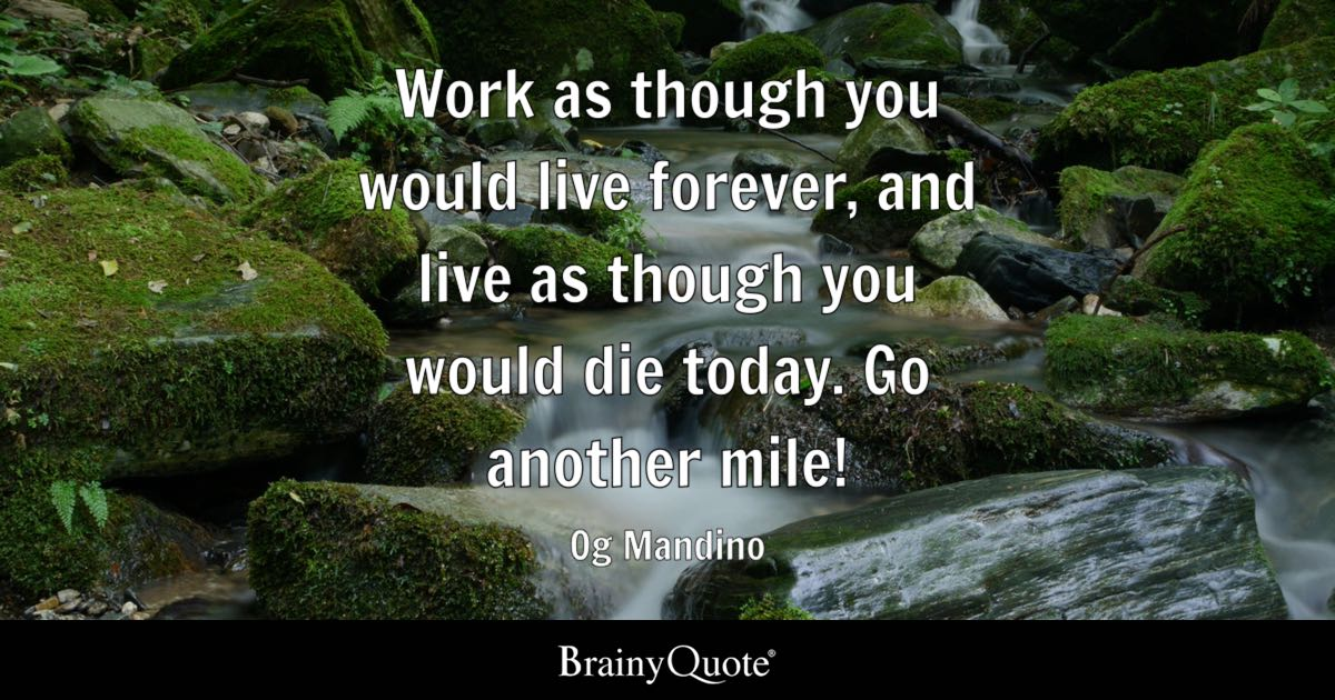 Og Mandino Quotes Cool Og Mandino Quotes BrainyQuote