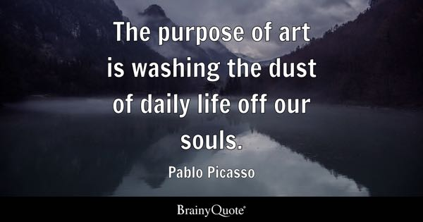 Art Quotes BrainyQuote New Quotes About Art And Life