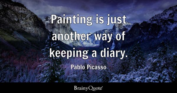 Painting Quotes Brainyquote