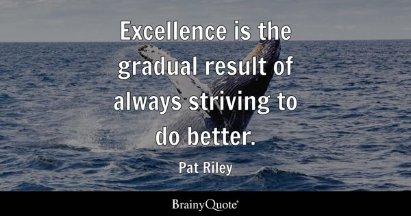 Excellence Quotes BrainyQuote Amazing Excellence Quotes