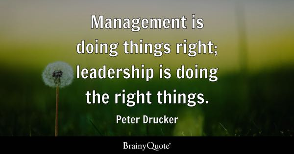 Management Quotes Brainyquote