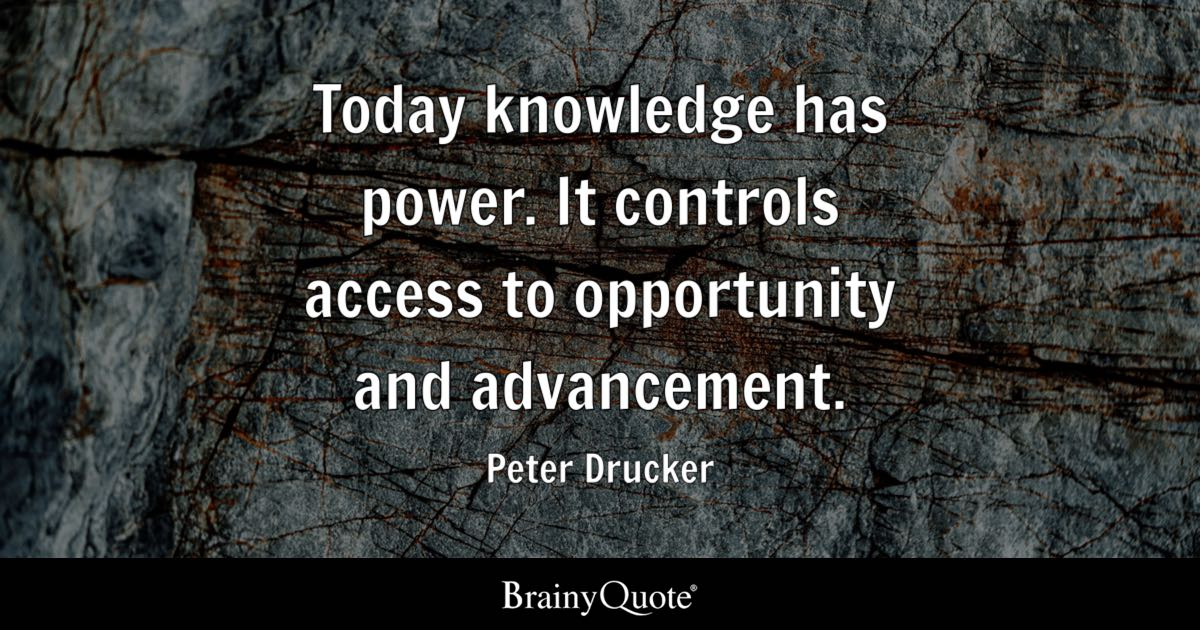 Peter Drucker Quotes Brainyquote