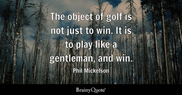 Golf Quotes Interesting Golf Quotes  Brainyquote