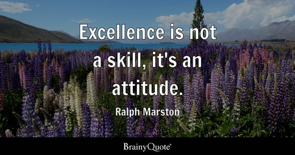 Excellence Quotes BrainyQuote Classy Excellence Quotes
