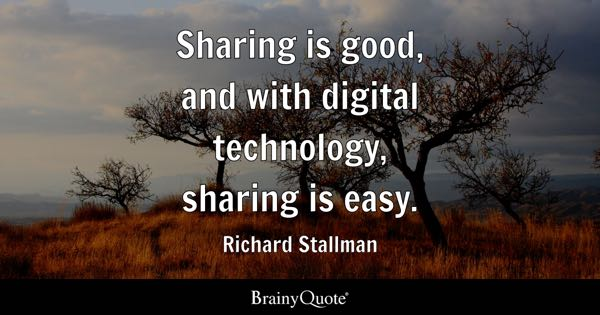 Sharing Quotes Brainyquote