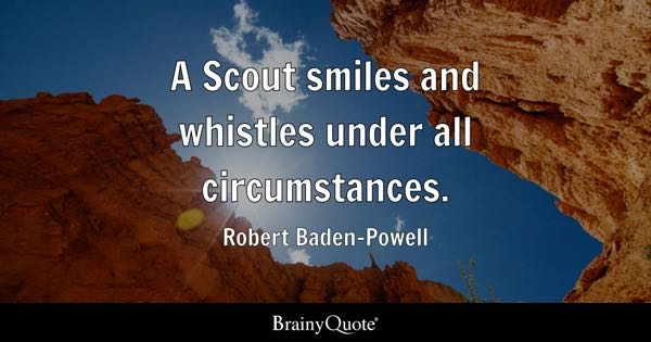 Boy Scout Essay With Quotes: Robert Baden-Powell Quotes