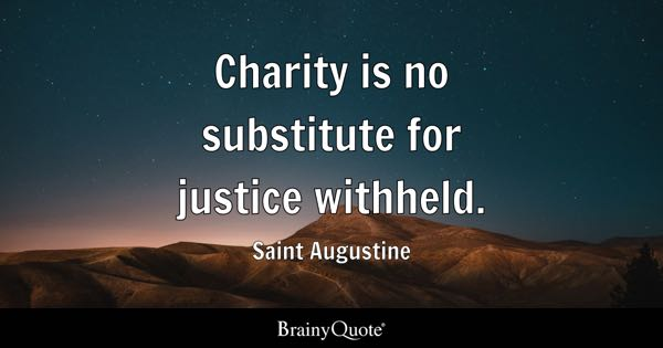 Quotes About Charity Prepossessing Charity Quotes  Brainyquote