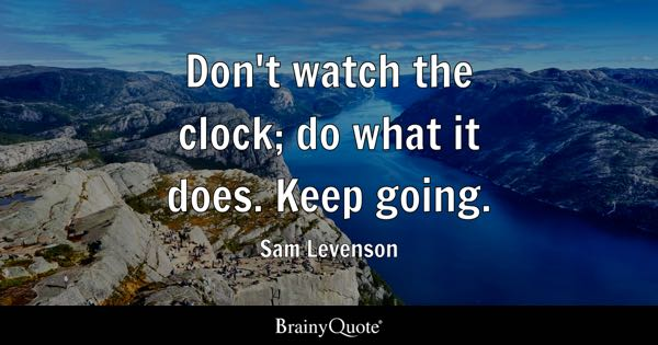 Clock Quotes Brainyquote