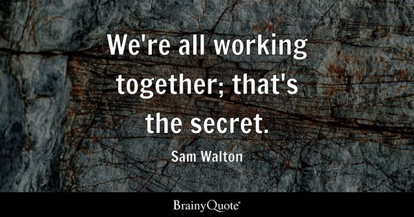 Working Together Quotes BrainyQuote Magnificent Together Quotes