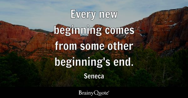 New Beginning Quotes Brainyquote