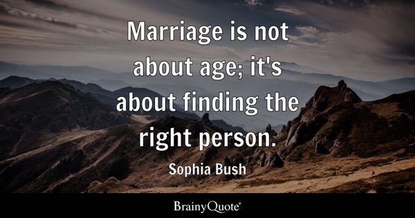 Right Person Quotes Brainyquote