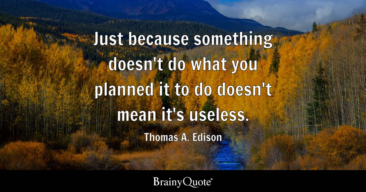 Thomas A Edison Quotes BrainyQuote Stunning Thomas Edison Quotes