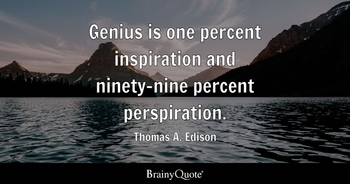 Thomas A Edison Quotes BrainyQuote Extraordinary Thomas Edison Quotes
