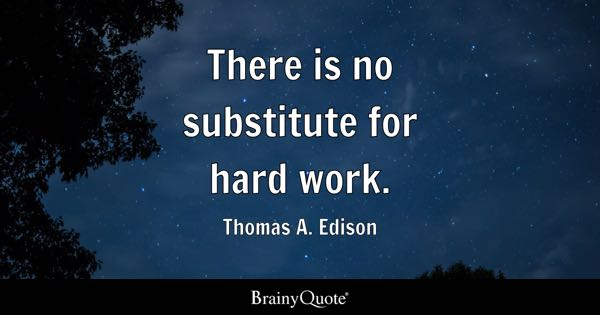 Work Hard Quotes Fascinating Hard Work Quotes  Brainyquote