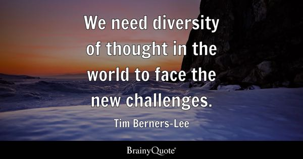 Quotes On Diversity Mesmerizing Diversity Quotes  Brainyquote